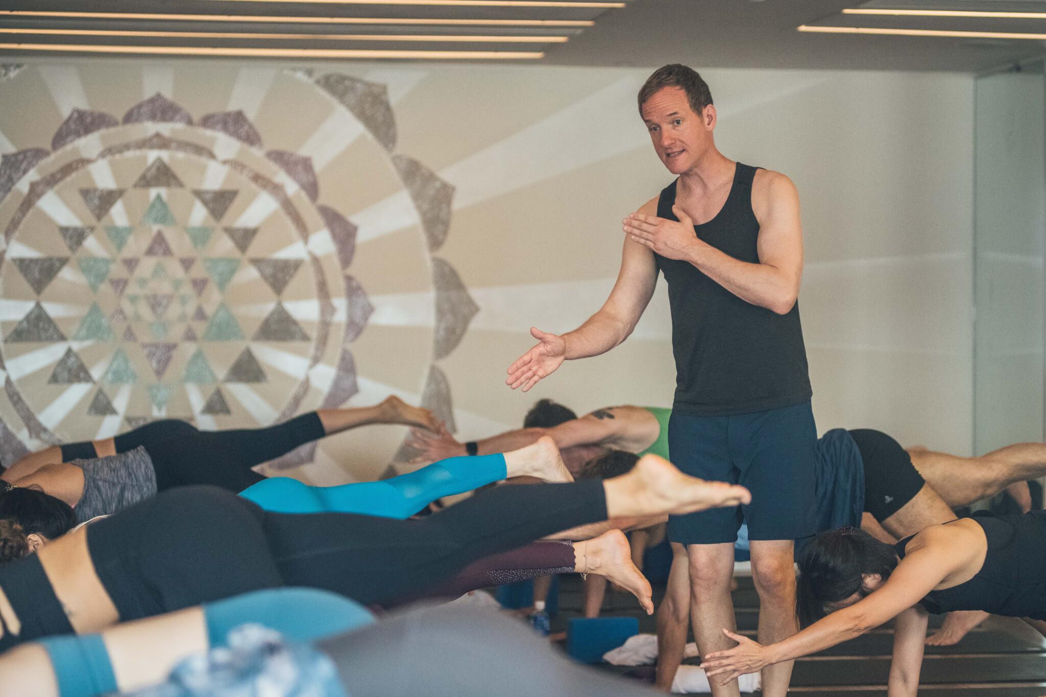 Jason Crandell teaching