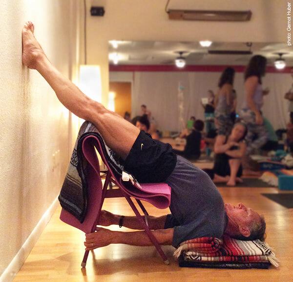 Sarvangasana On Chair Shoulderstand Roger Img0151 Yoga Anatomy