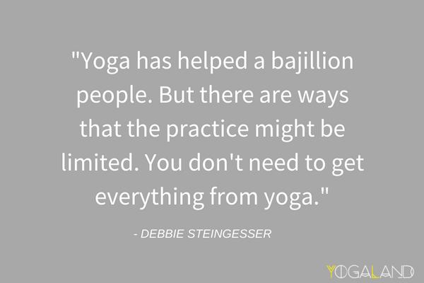 Yoga Crosstraining | Yoga Podcast with Debbie Steingesser | Yogaland Podcast