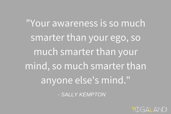 Sally Kempton ego quote | yoga philosophy podcast | Yogaland Podcast