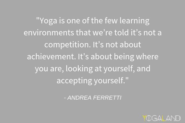 Andrea Ferretti quote | yoga podcast | Yogaland Podcast
