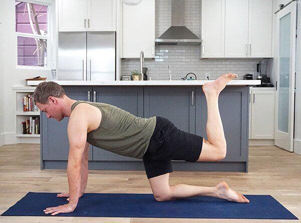 Hamstring Curl - - Yoga to Strengthen Hamstrings