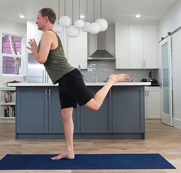 Natarajasana King Dancer Pose - Yoga to Strengthen Hamstrings