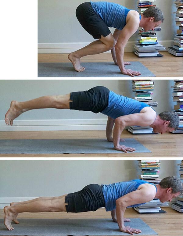 Jumping from Uttanasana to Chaturanga | How to Do Chaturanga Transitions Safely | Jason Crandell Yoga Method