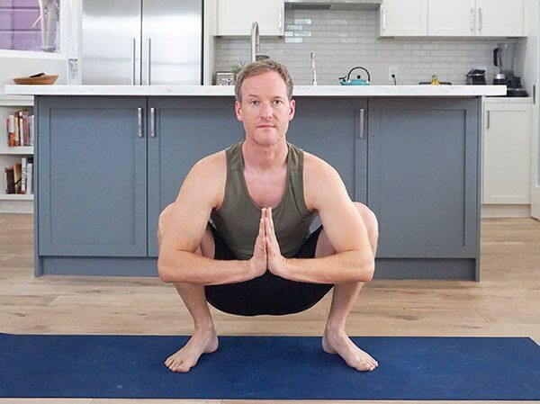 Malasana - Padmasana Yoga Pose Sequence