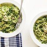 Zucchini Noodles with Perfect Pesto