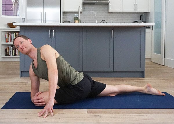 Pigeon Pose Twist - Padmasana Yoga Pose Sequence