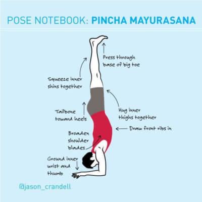 Yoga Pose Notebook: Avoid the Banana in Forearm Balance