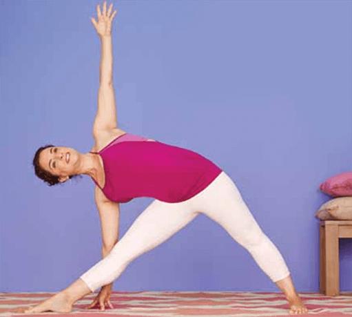 Andrea Ferretti Triangle Pose